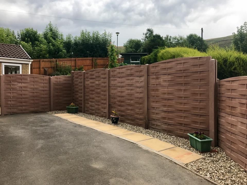 Timbercast Fencing Systems   DD Concrete