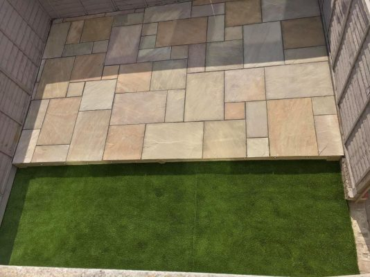 Indian Sandstone   Natural Paving   DD Concrete